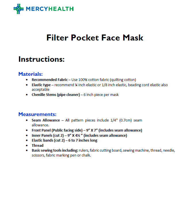 FittedPocketMask